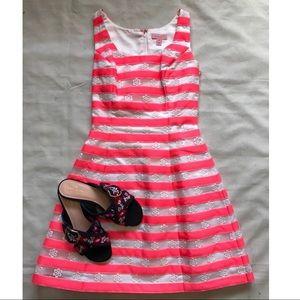 Lilly Pulitzer Dress Joslin Pink Striped Floral